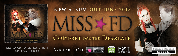 Miss FD Dark electro and gothic music