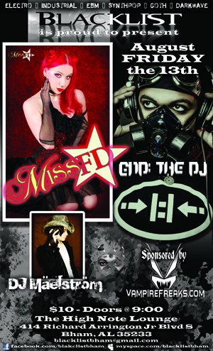 Miss FD, End: The DJ, DJ Maelstrom - Blacklist Bham