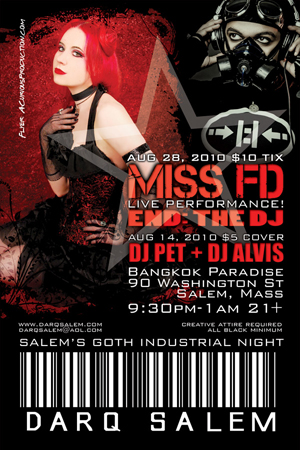 Miss FD and END: The DJ - Darq Salem