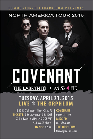 Covenant 2015 Tour - Miss FD