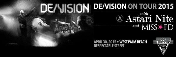 De/Vision 2015 Tour, Astari Nite, Miss FD
