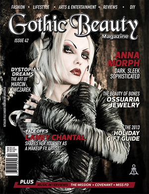 Gothic Beauty Issue 42 - Miss FD Interview