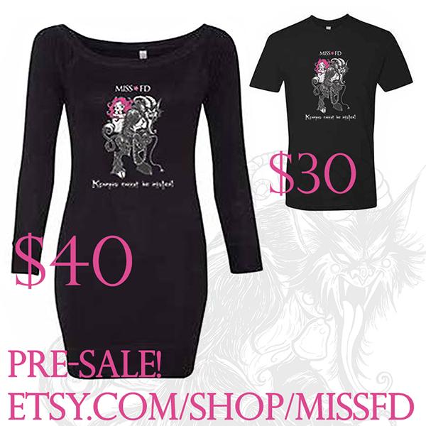 Krampus Shirts - Miss FD