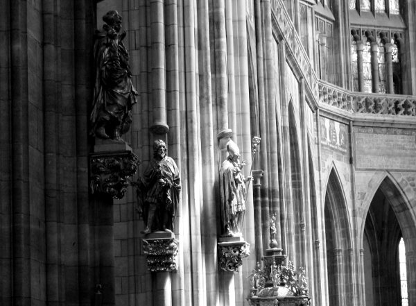 Saint Vitus Gothic Cathedral - Photo by Miss FD