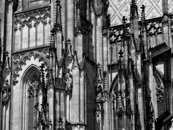 Prague - Gothic Cathedral - Photo by Miss FD