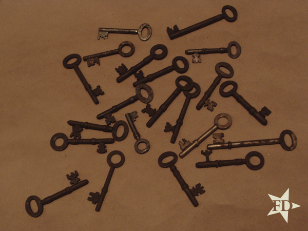Miss FD - 21 Skeleton Keys