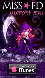 Miss FD - Electropop Sickle Halloween Single on iTunes